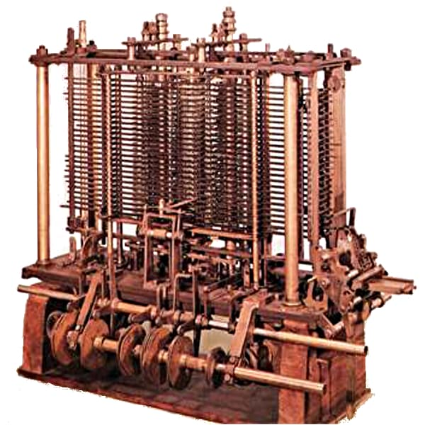 The wooden computing machine